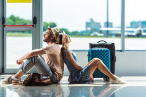 couple traveling with fertility medications